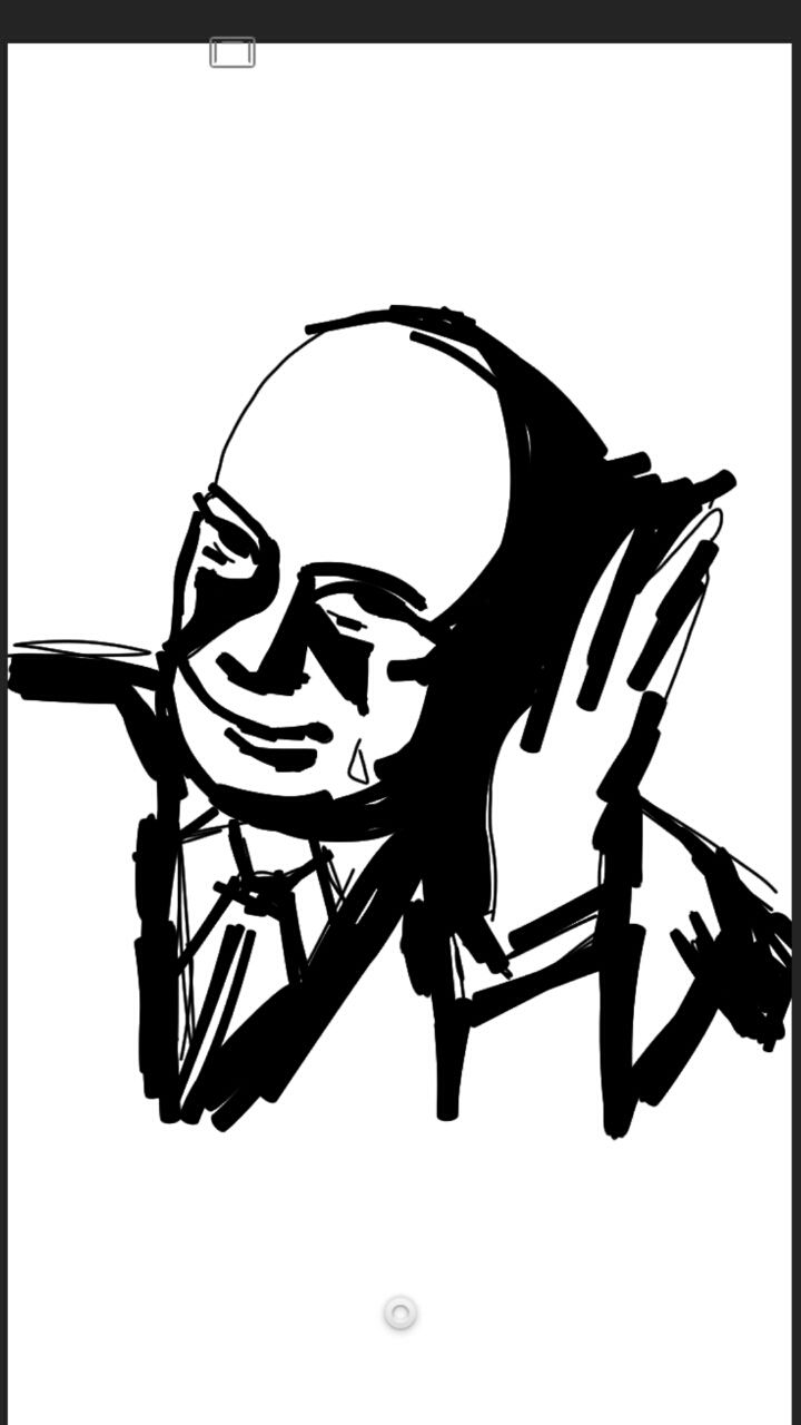 Edgar Kennedy. Sketch. Anonymous artist