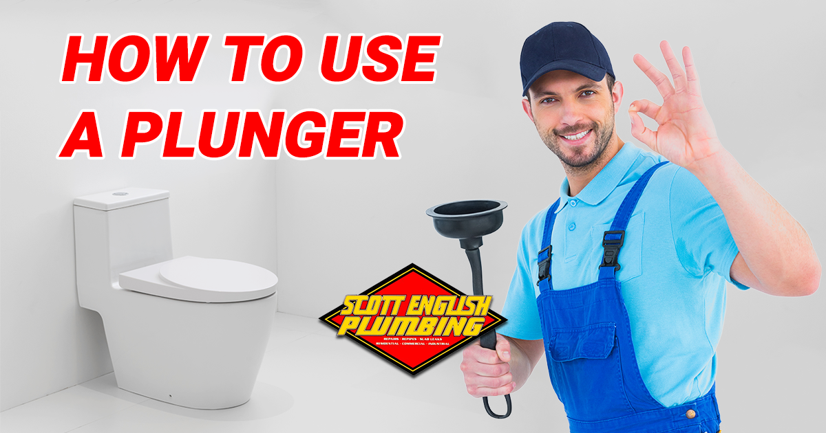 Use A Plunger Properly Learn To Use A Plumber The Right Way In Orange County Plunger Plumbing Repair Plumbing