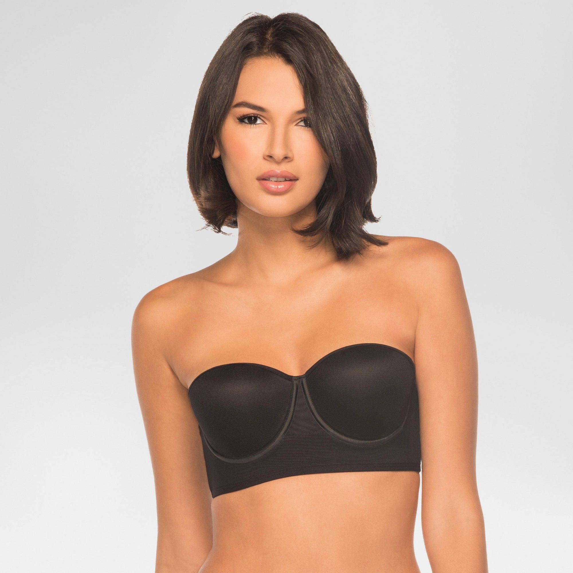 e65208b3ffa6b Annette Women's Control Bra with Extra Side Support - Black 34DD ...