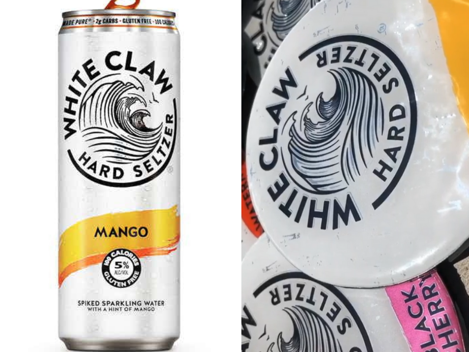 People On Tiktok Are Turning White Claw Cans Into Coasters How To Make Drinks Can Crafts Diy Projects Cans