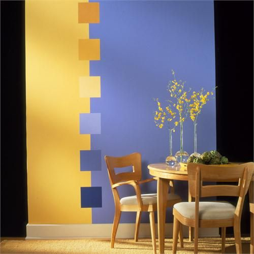 Great Ideas Color Transitions Squares From Benjamin Moore