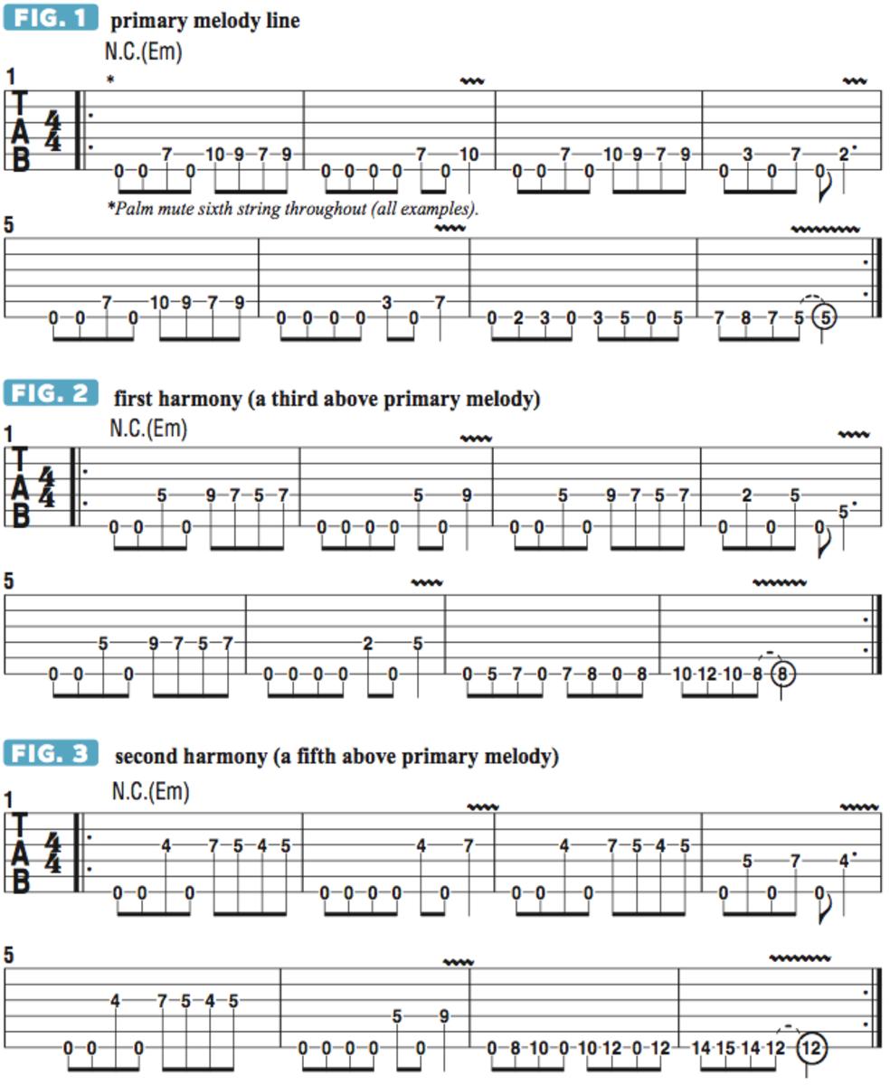 How To Build Classic Three Part Metal Guitar Harmonies In 2018