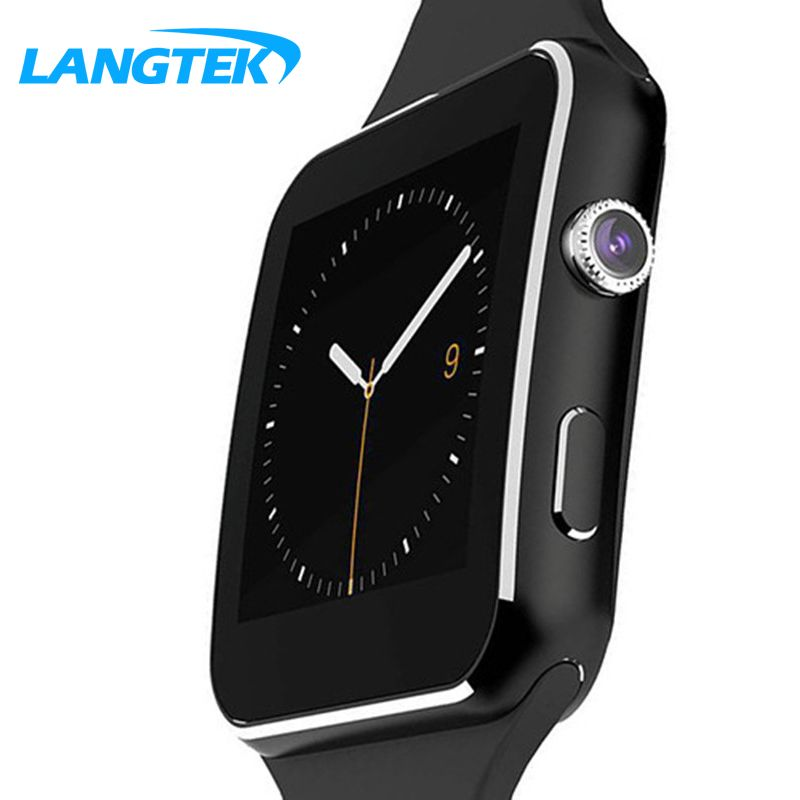 Langtek Xl06 Smart Watch Android Smartwatch Hd Curved Display Sync Facebook Whatsapp Message Support Sim Tf Pk Wearable Device Smart Watch Android Smart Watch