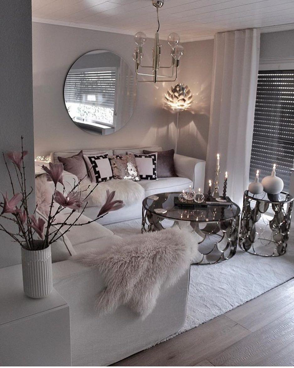 Interior Of Your Dreams On Instagram Beautiful Gozdee81 Hausdeko Living Room Decor Modern Apartment Living Room Design Living Room Decor Apartment