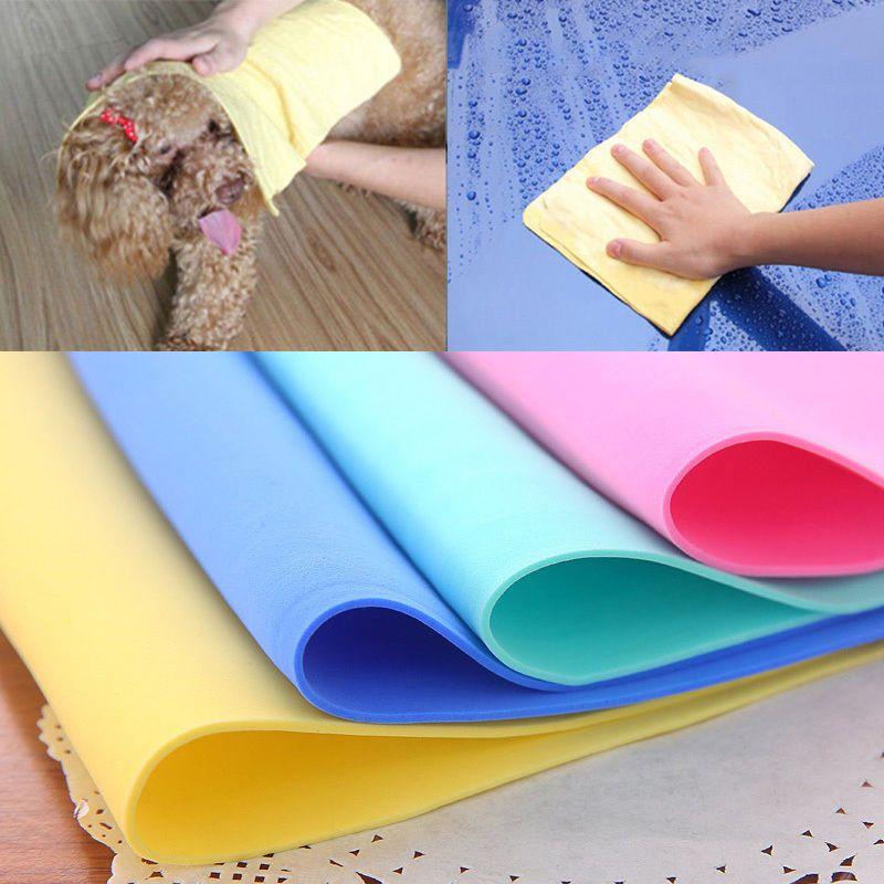 30*20 cm Ningún rastro de Cuero toalla de limpieza lavado de Matorrales de cuero Artificial y Bodys Tratamiento A04-LP