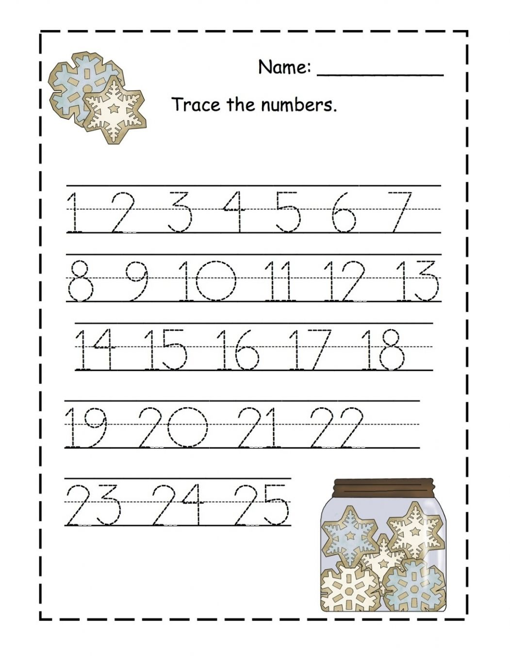 Worksheets Printable Tracing