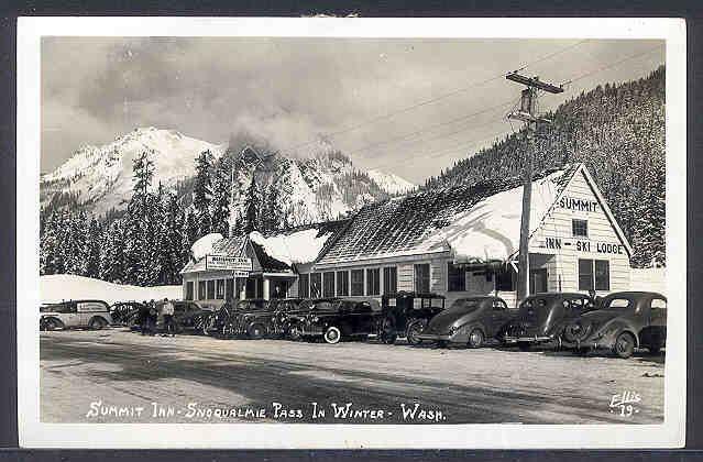 vintage snoqualmie summit inn | NW Vintage | Vintage