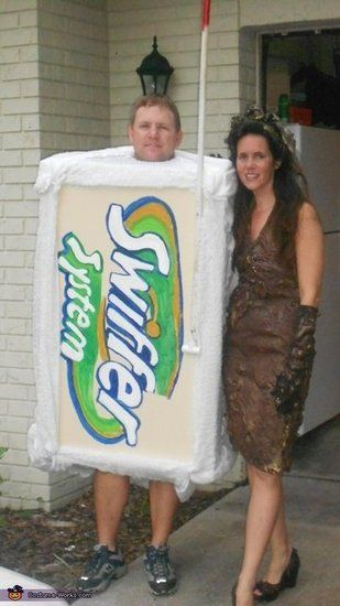 100 Creative Halloween Couples Costume Ideas  sc 1 st  Pinterest & Swiffer and Mud Lady | Couple costume ideas Costumes and Costume works