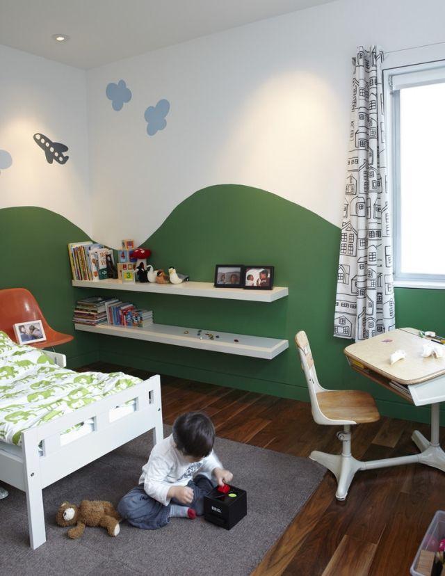 35 Ideen zur kreativen Kinderzimmergestaltung mit Farbe