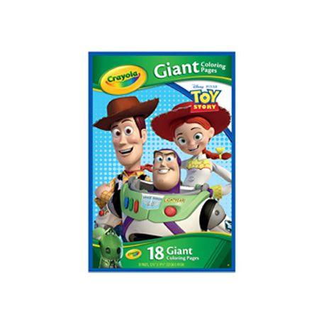 Livre à colorier géant Toy Story   DeSerres   Pixar toys ...