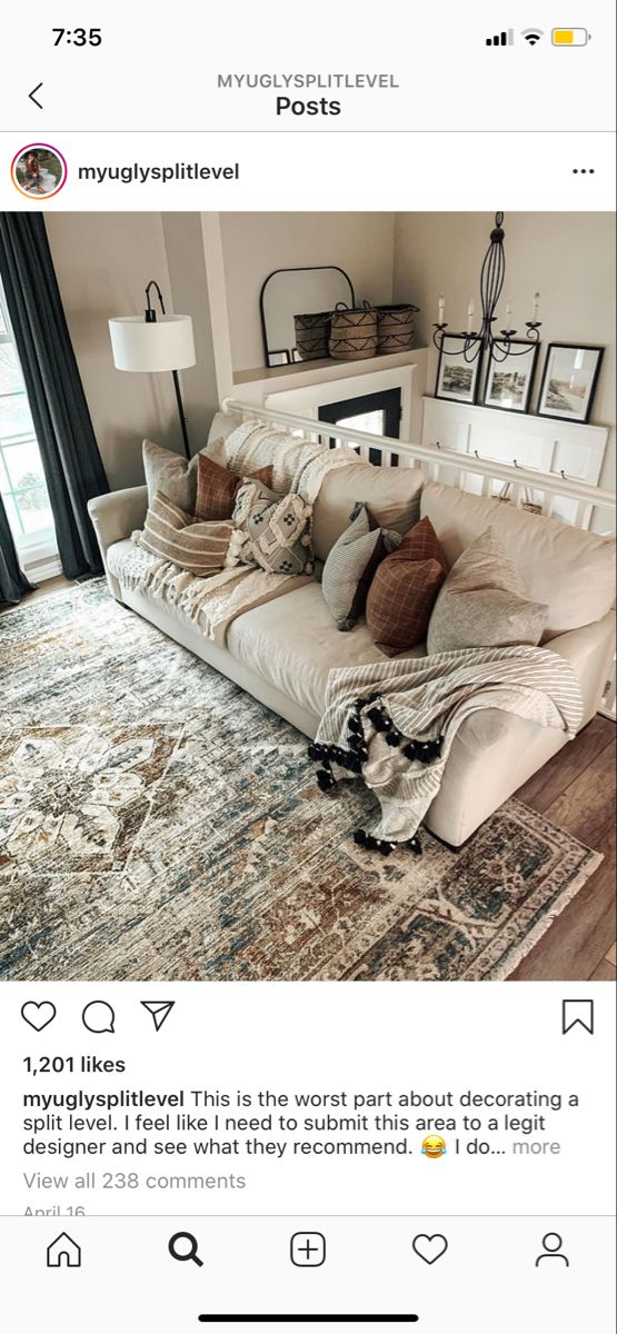 Tan couch in 2020   Tan couch, Living room, Room