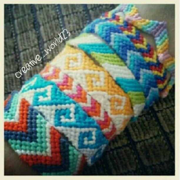 ~ Friendship bracelets ♥ ~ #friendshipbracelet #friendshipbracelets #chevron