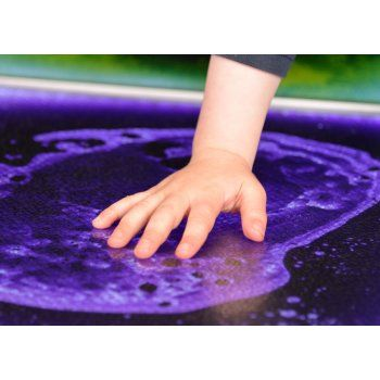 Lightup Liquid Filled Floor Tile From Learning Space Uk Baby