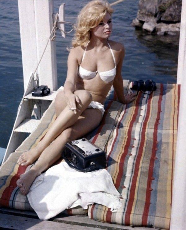 Brigitte Bardot Beachstyle