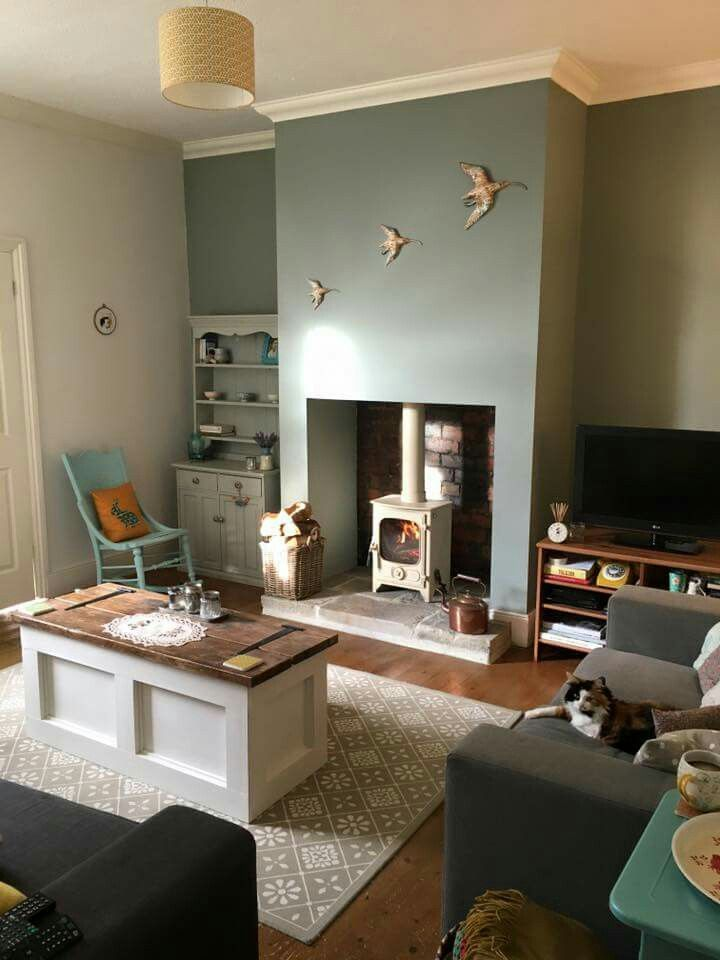 farrow and ball pigeon lounge pinterest living