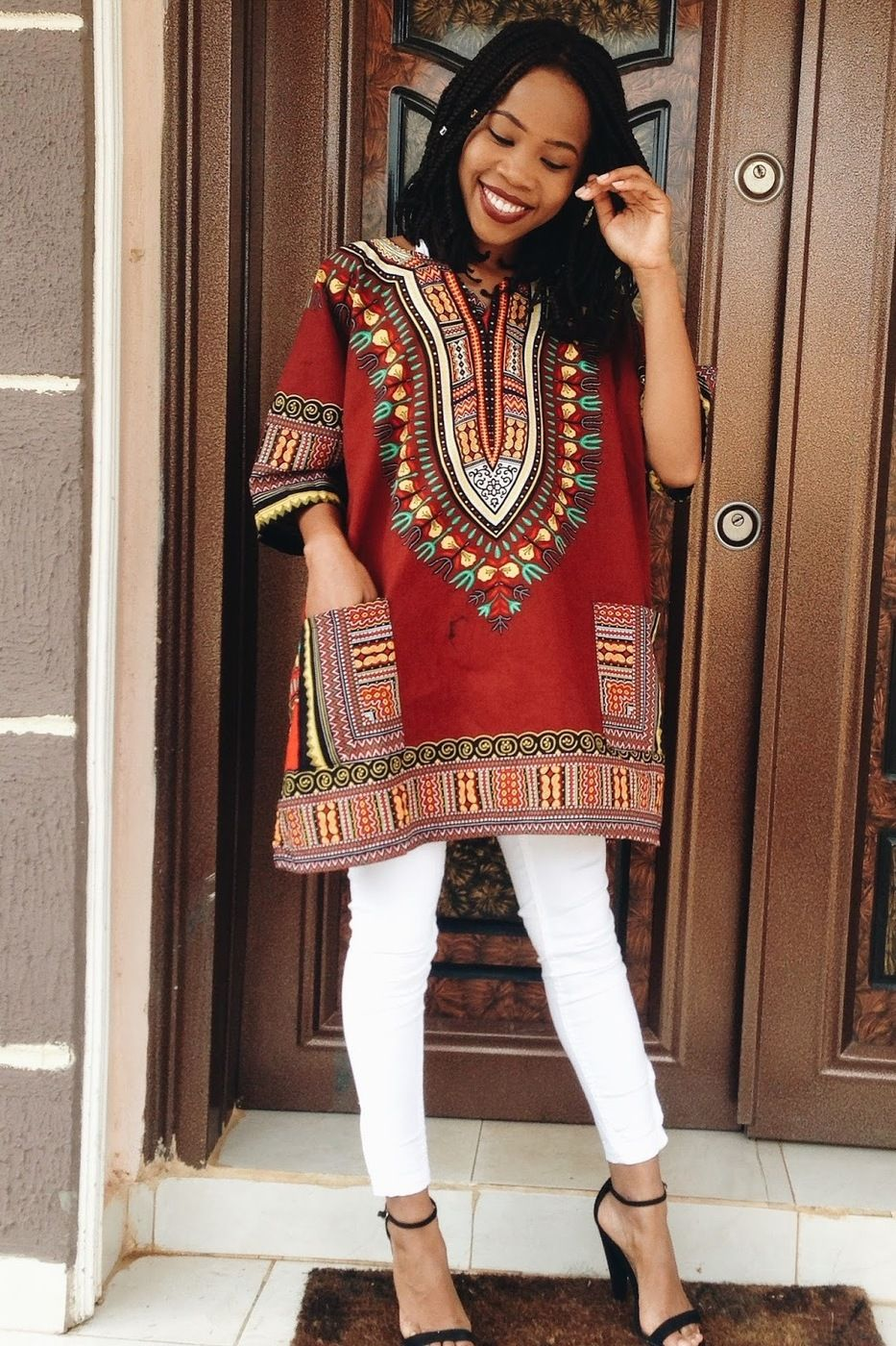 HOW TO STYLE YOUR DASHIKI [[MORE]] HOW TO STYLE YOU