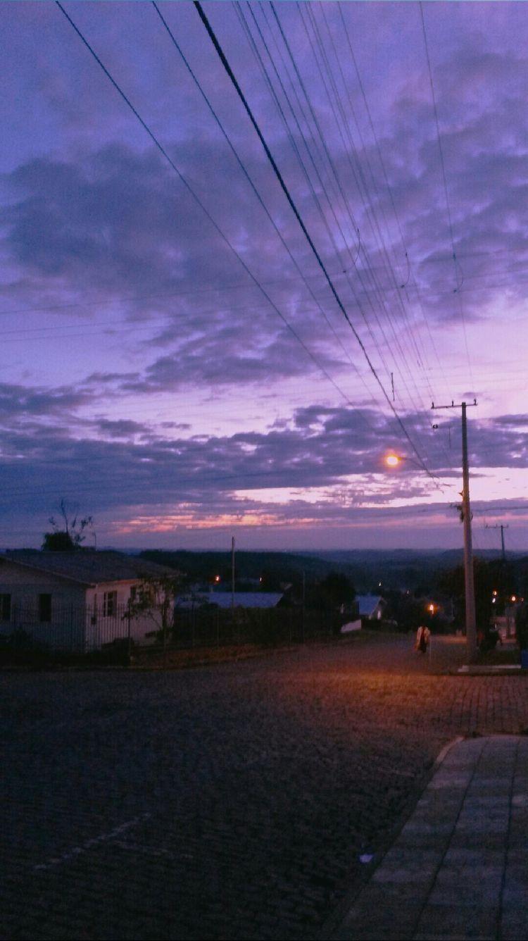 Purple skyyy💜💜😍 purplesky aesthetic Sky aesthetic