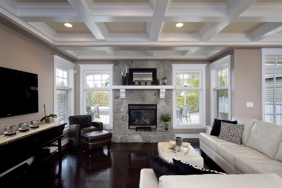 27 Amazing Coffered Ceiling Ideas For Any Room House Plans, Home