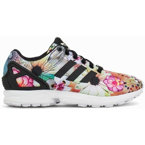 852bc4a59 Adidas Originals Zx Flux W (1325 MAD) ❤ liked on Polyvore featuring shoes