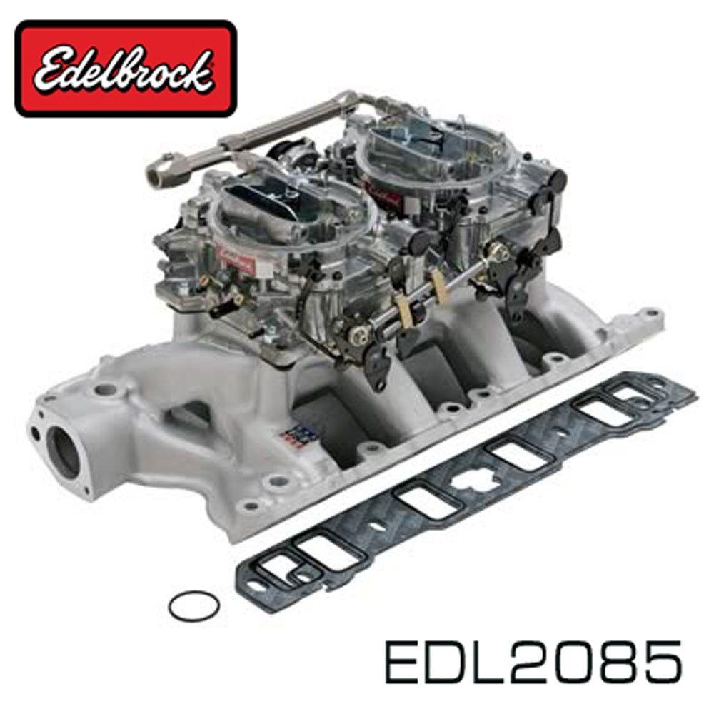 Edelbrock Dual Quad Intake Manifold / Carburetor Kit 351W