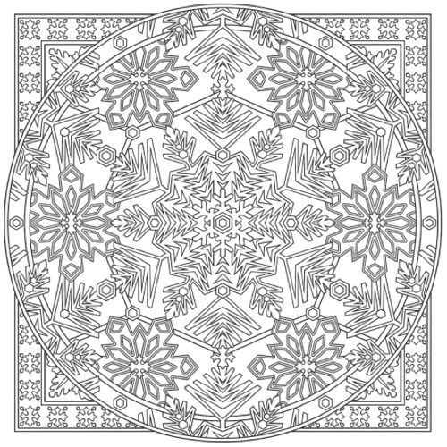 22 Christmas Coloring Books To Set The Holiday Mood Mandala Coloring Pages Coloring Pages Coloring Books