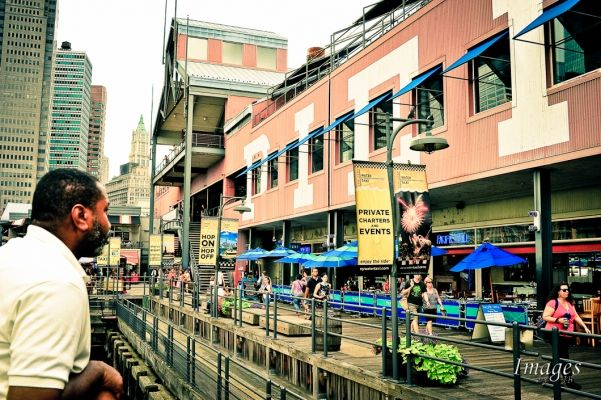 Photo of the Day - South Street Seaport Pier, New York City.