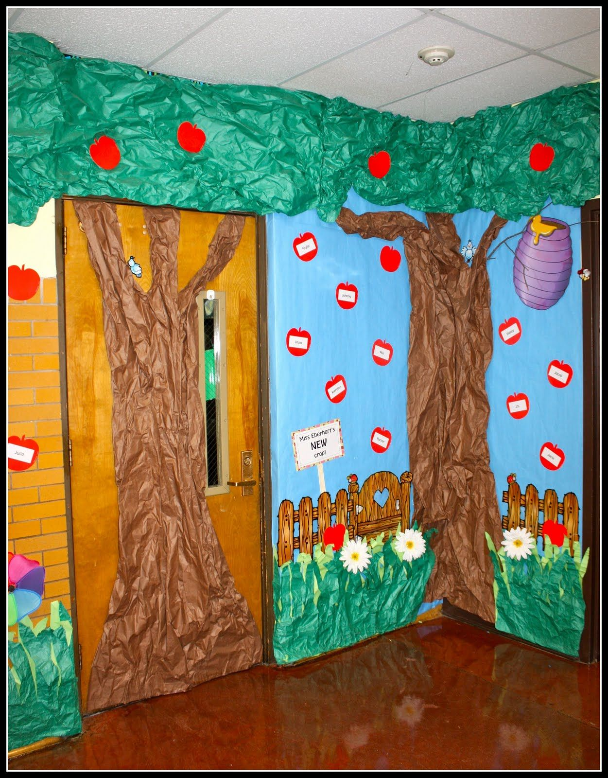 Cool Garden Wall Decorations School School Doors