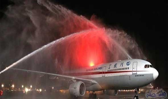 """خطوط """"سيتشوان"""" الصينية تسير رحلات مباشرة إلى…: رحبت مؤسسة مطارات دبي بوصول أول رحلة مباشرة تابعة لخطوط """"سيتشوان"""" الصينية قادمة من مطار…"""