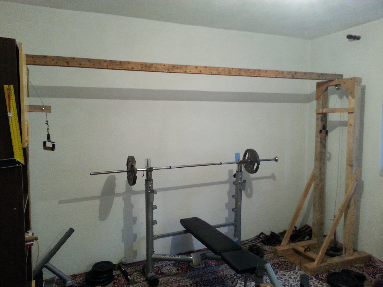Diy homemade fitness equipment cable crossover homemade