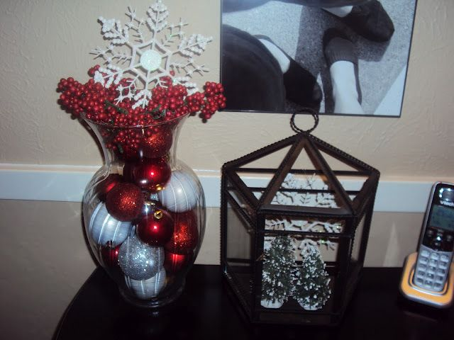 Busybee The Beard Ornaments In Vase Dollar Store Decor Crafty