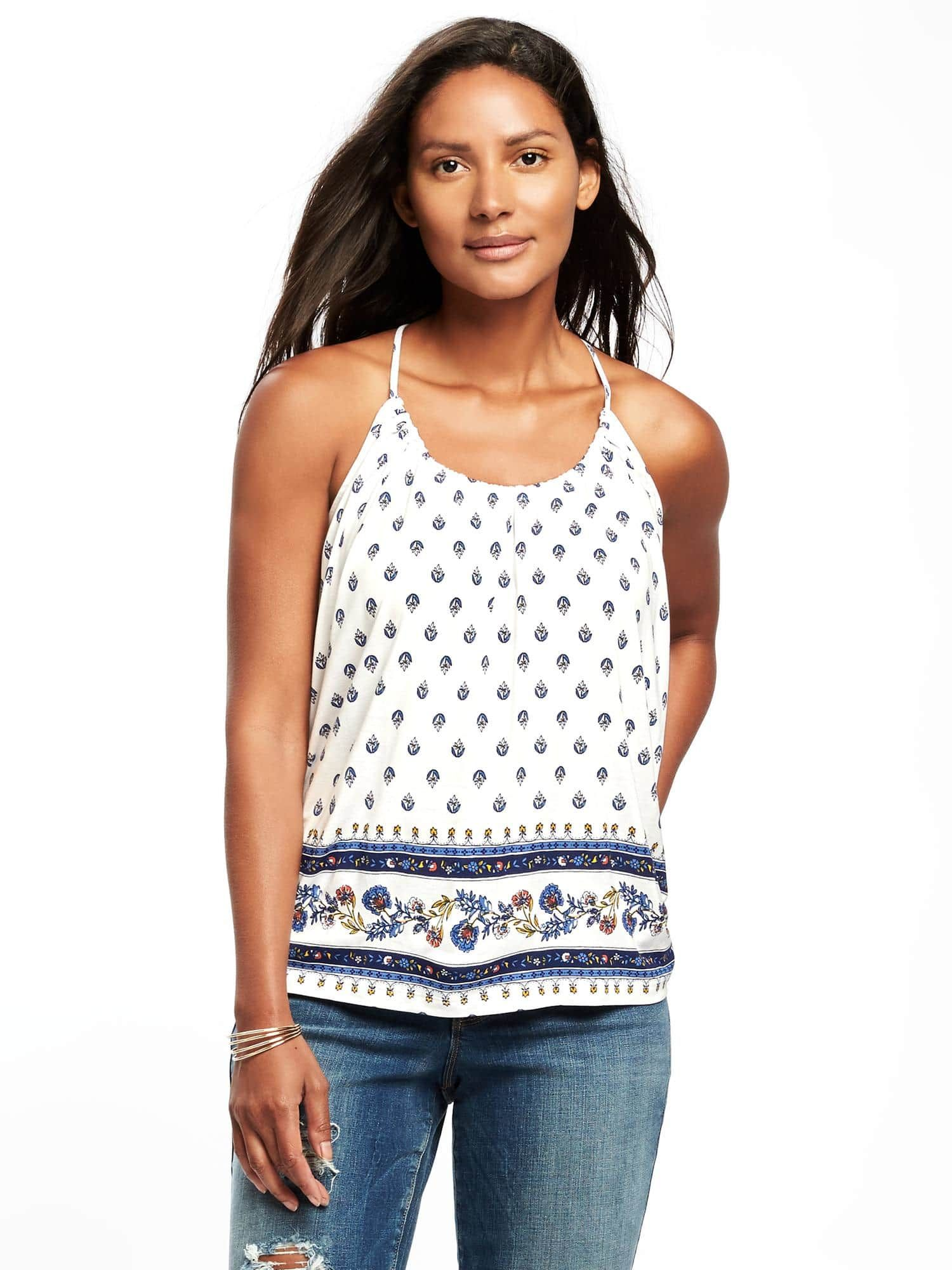 7b2a0862d04e Relaxed Suspended-Neck Top Autumn Summer