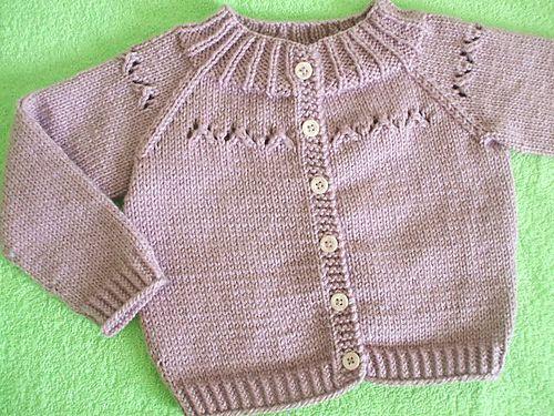 TEJIENDO A DOS AGUJAS: Un Cardigan para niños | tejido | Pinterest ...