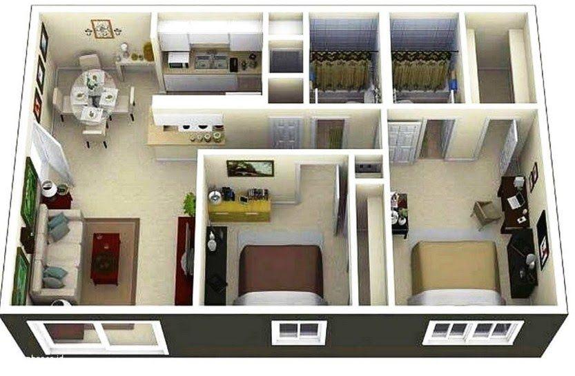 Gambar Rumah Minimalis Ukuran 6x6 Di 2020 Denah Rumah Rumah
