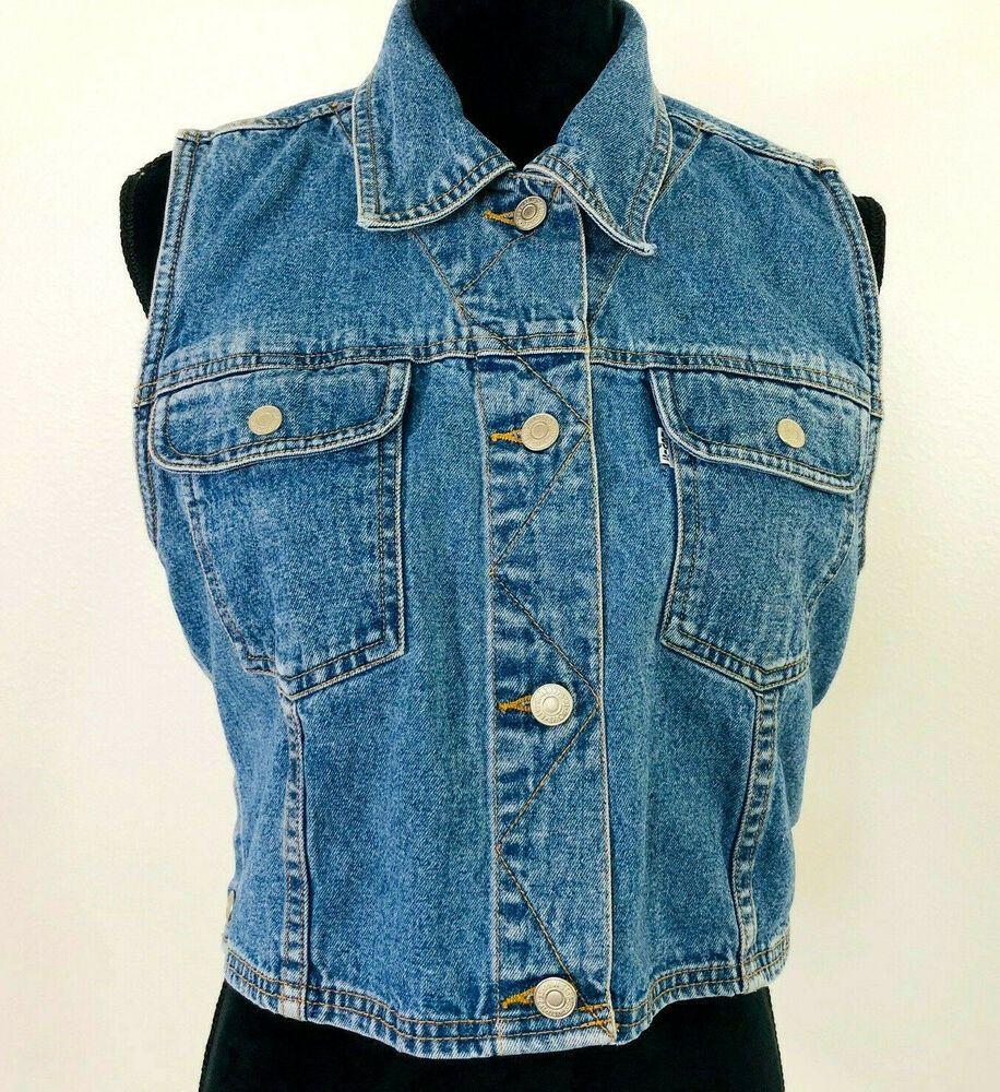 Levis | Levi's Sleeveless Denim Shirt at ASOS | Sleeveless
