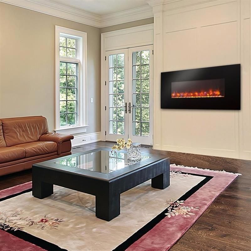 Outdoor Great Room Linear Electric Fireplace