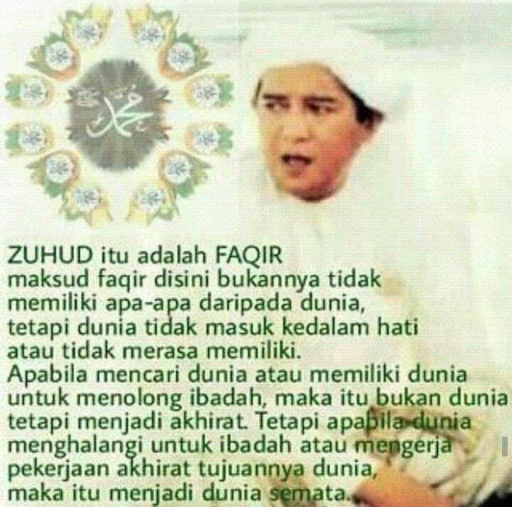 Makna Zuhud Kutipan Agama Quran Bijak