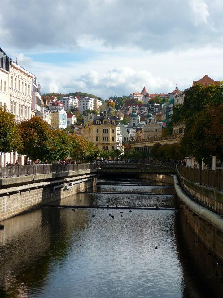 Karlovy Vary, Czech Republic by Camille Johnston