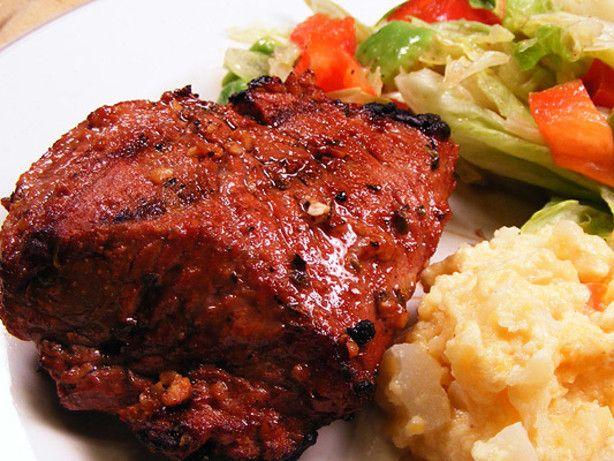 Ka-Bam Kabobs  Marinade Recipe  - Food.com #chickenkabobmarinade