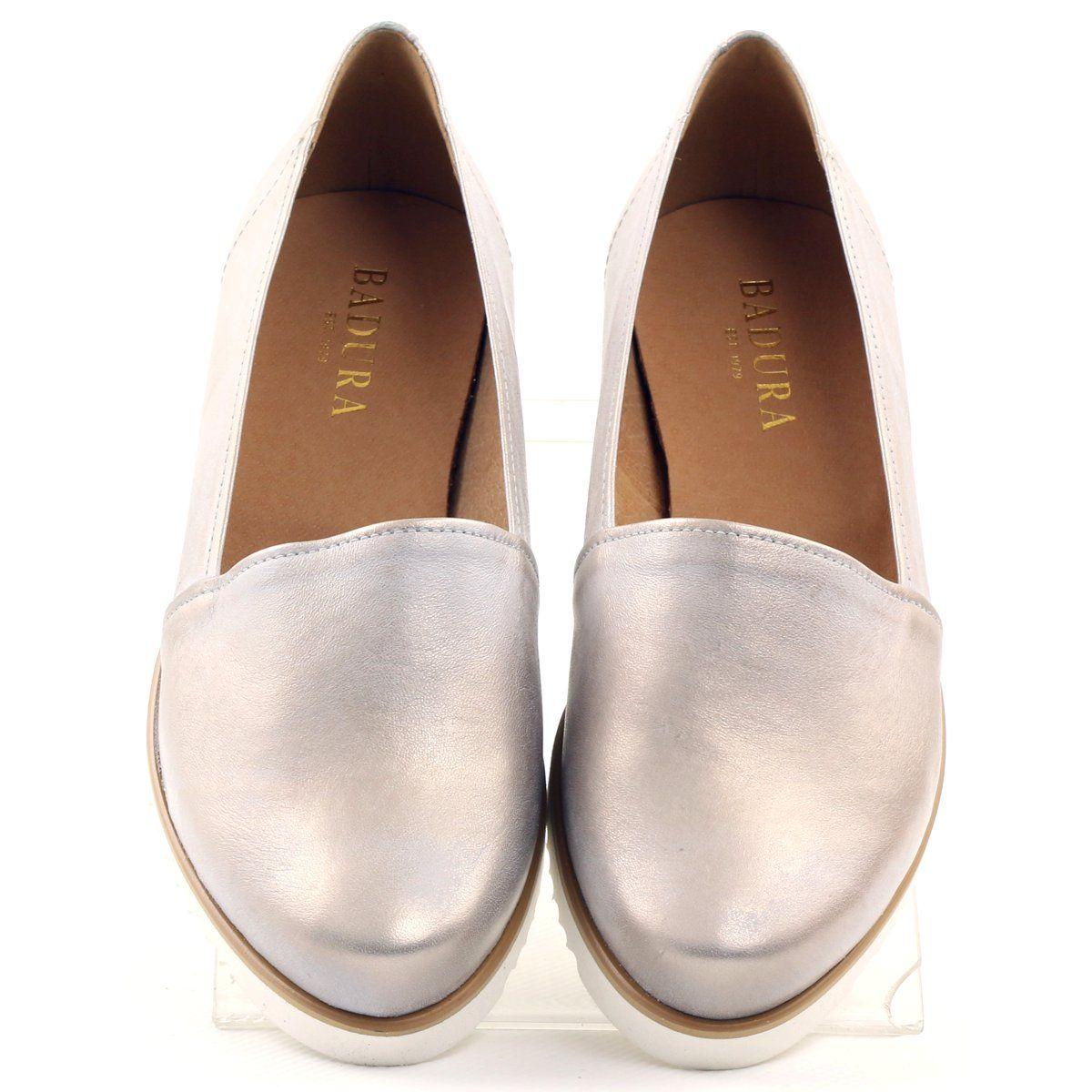 Polbuty Damskie Badura Bezowo Zlote Bezowy Zloty Women Shoes Shoes Shoes Drawing