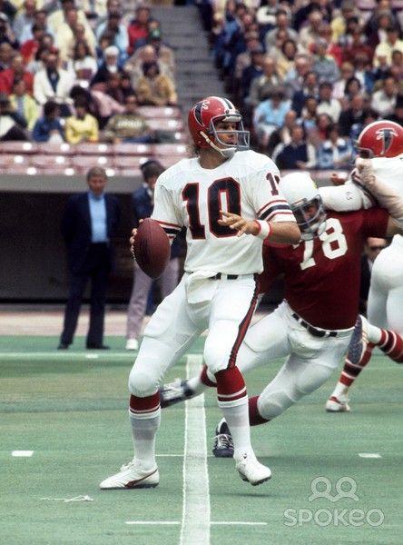 1975. Atlanta Falcons Qb Steve Bartkowski (10) | Quarterbacks | Nfl