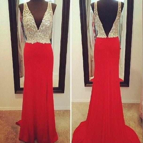 prom red dress tumblr - Szukaj w Google | myself | Pinterest | Red ...