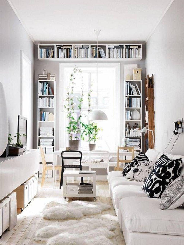 48 Awesome Decorating Ideas For Small Apartments Rumah Rumah Minimalis Apartemen Kecil