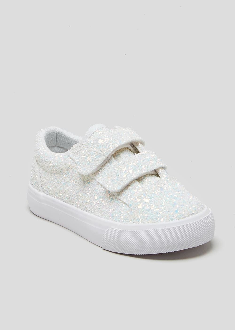 e76f5b0213a8 Kids Glitter Trainers (Younger 4-12) | Emma | Kids outfits, Matalan ...