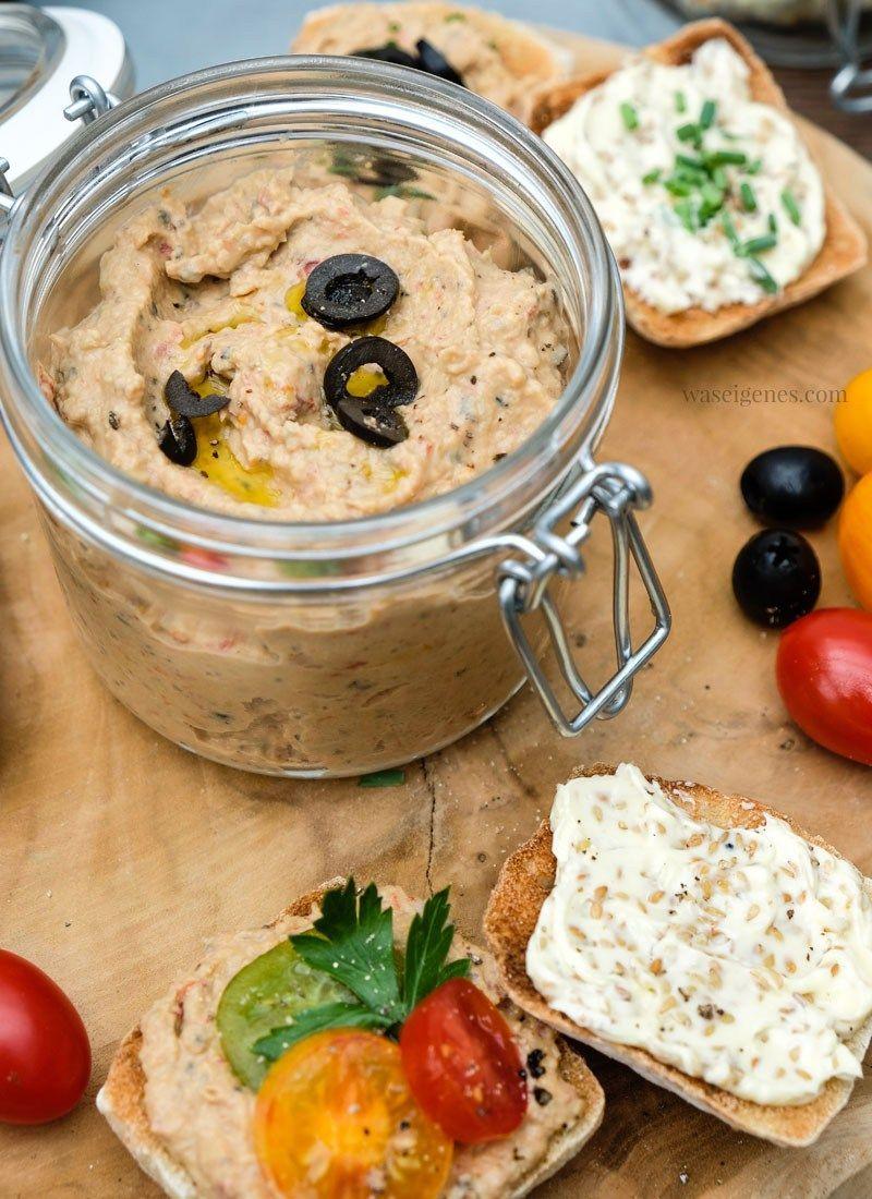 Photo of Rezept: Auberginen Dip & Sesam Butter {mit und ohne Thermomix}