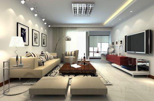 Gambar desain interior ruang tamu masa kini also keluarga rh pinterest