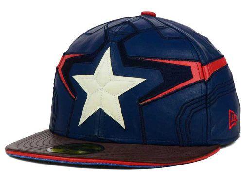 42ecca19 Marvel Character Armor 59FIFTY Cap | hats | Hats, Captain america ...