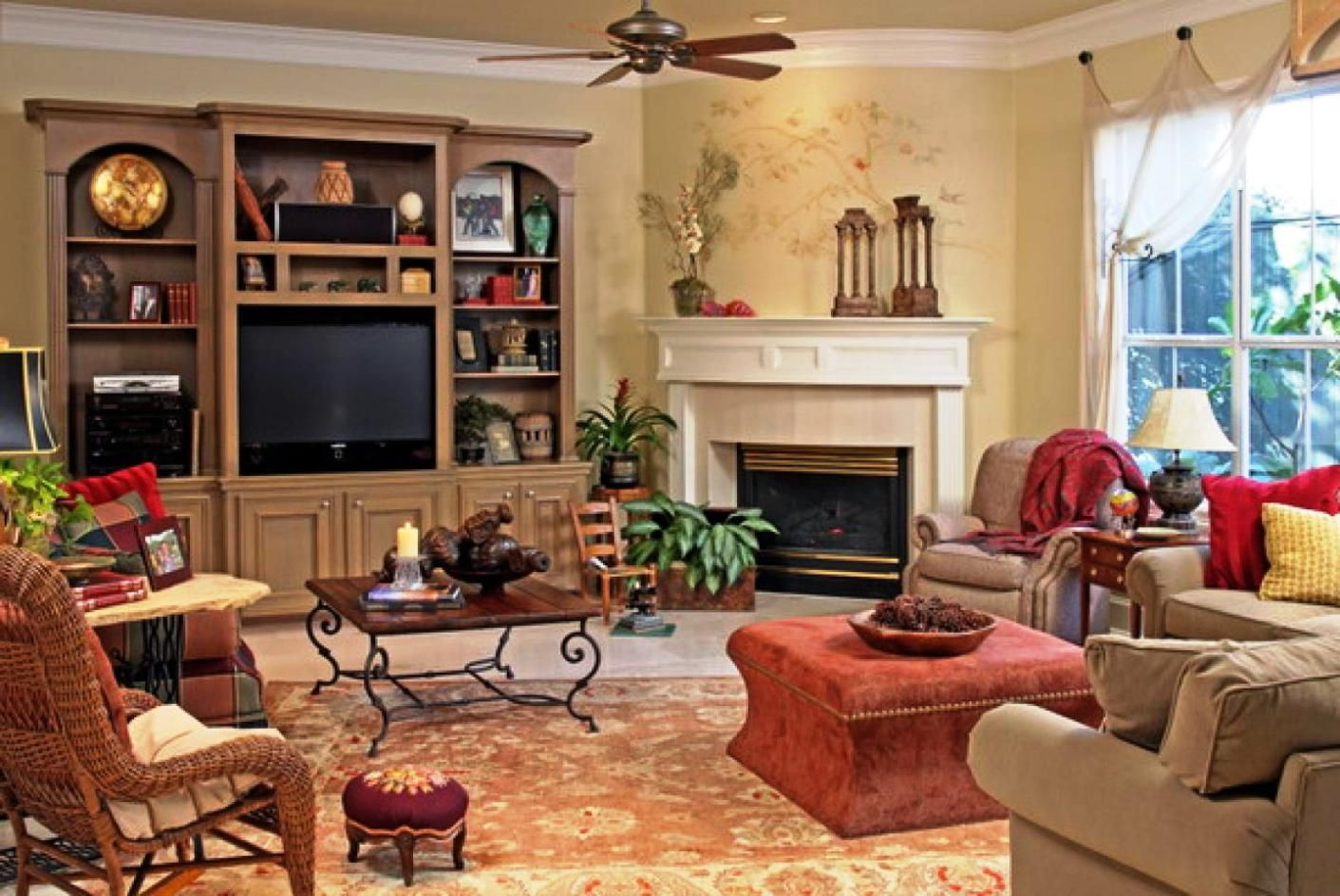 https://www.google.pl/search?q=colorful old  Vintage Living RoomsCountry  ...