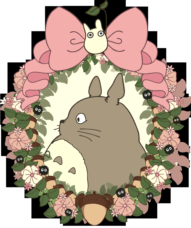 Totoro Para Camisa Totoro Art Studio Ghibli Totoro