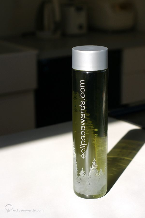 Uniquely Etched Water Bottle | Custom Awards by Eclipse Awards