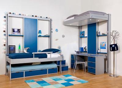 Lit Au Plafond Chambre Enfants Rangements Integres Bureau Fabrication Francaise Lit Escamotable Amenagement Petite Chambre Idees De Lit